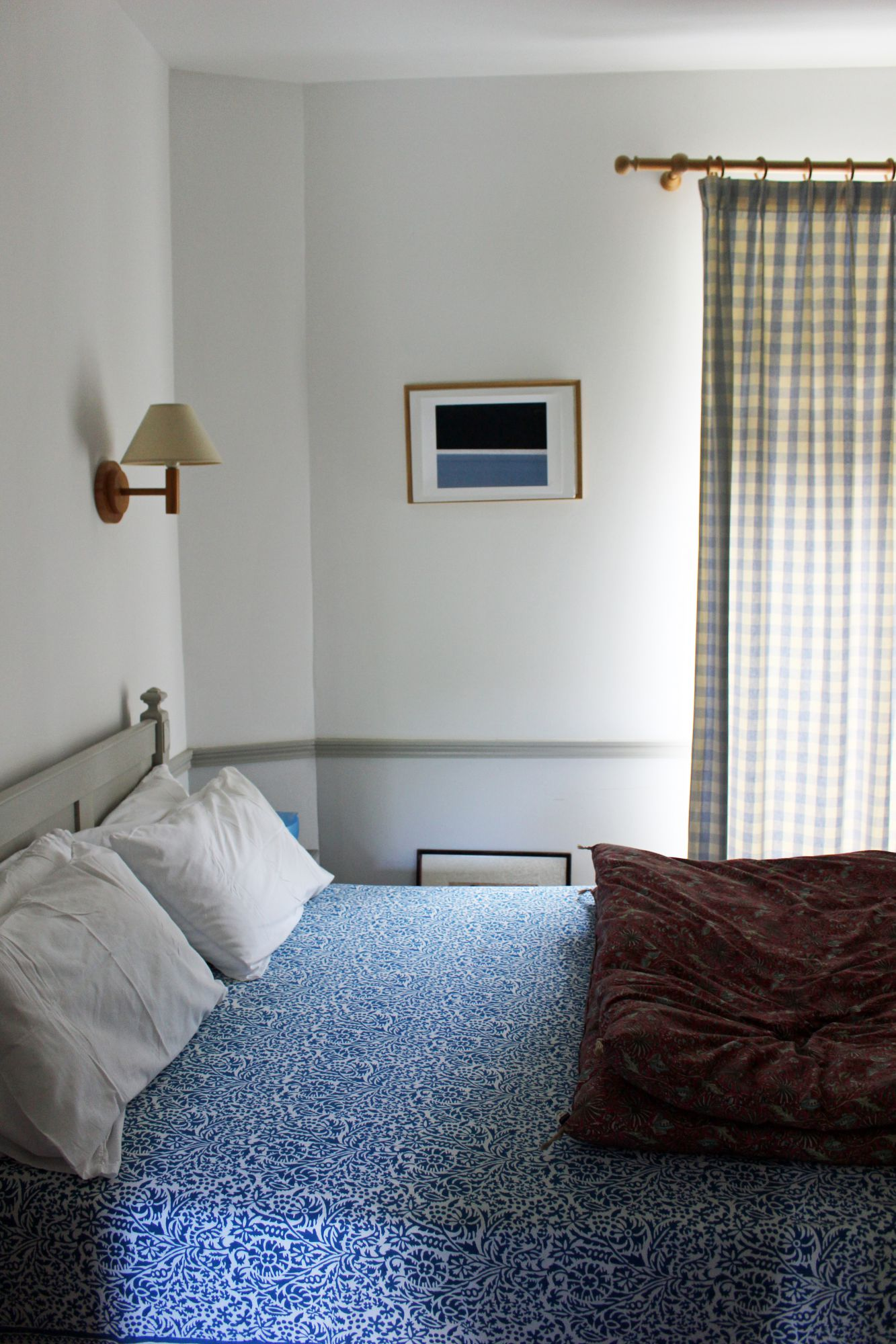 Chambre Bleue : Chambre bleue les mouettes saint suliac chambres d hôtes